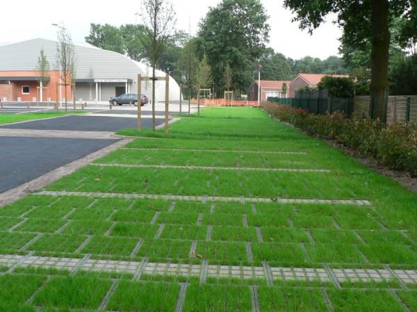 Groene parkeerplaatsen - Revetement sol parking exterieur ...