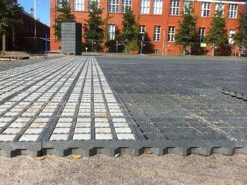 Gebruikte betonroosters